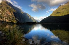 Milford Sound in Fiordland National Park, New Zealand. Water! Enjoy a cruise or get closer to nature by kayaking.