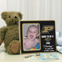 Love this Born to be a Purdue fan frame.