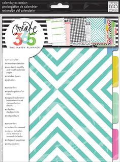 Amazon.com: me & my BIG ideas Create 365 The Happy Planner Six Month Extension Pack: Arts, Crafts & Sewing