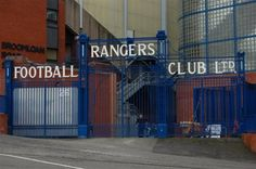 Ibrox Stadium - Gate