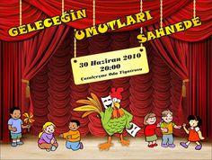 Bilbboard design for international theatre festival in Turkey-Denizli City.