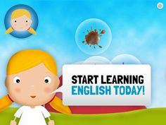 Learn English for Toddlers - a nice iPad app for teaching English to young kids Dual Language, Second Language, English Language, Activities To Do With Toddlers, Speech Activities, Learning English For Kids, Teaching English, Learn English Today, Class Tools