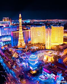 "I think ""the strip"" in Vegas is just breathtaking....this city will always hold such a special place in my heart..."