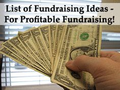 Comprehensive List of #Fundraising Ideas for profitable and successful fundraising! (Photo by Todd Porter off Flickr.com)