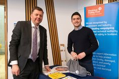 Scottish Parliament, Electrical Safety, Safety First, March, Drop, Mac, Mars