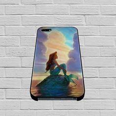 Ariel The Little Mermaid Sunset case1 of iPhone case,Samsung Galaxy #case #phonecase #hardcase #iPhone6case
