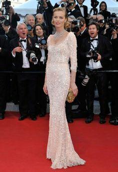 Cannes Film Festival 2012: Eva Herzigova in Dolce & Gabbana