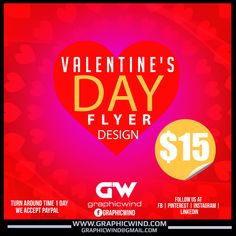 For high-quality Flyer designs Contact us at web: www.graphicwind.com or please email us to graphicwind@gmail.com Flyer Design, Logo Design, Graphic Design, Web Technology, Time 7, Creative Design, Shirt Designs, Valentines, Valentine's Day Diy