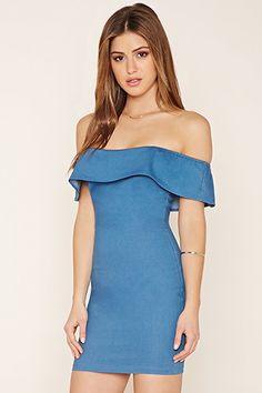 Wyldr Off-the-Shoulder Dress