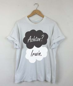 Okay Okay Ashton Irwin T-shirt, Ashton Irwin 2015, Ashton Irwin 5SOS, Ashton Irwin Quotes, Ashton Irwin Tattoo, Men and Women Shirt by RizalDesign on Etsy