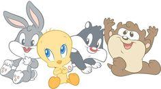 Baby Looney Tunes. Love.