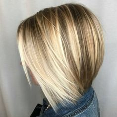 See this Instagram photo by @behindthechair_com • 2,615 likes Blonde Bobs, Blonde Hair, Ashy Blonde, Bob Hairstyles, Pretty Hairstyles, Bob Haircut Bangs, Hair Affair, Hair 2018, Fine Hair