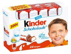 Kinder Chocolate and me. Kinder Schokolade was developed for kids, but yummy and sweet for adults. Now you can buy Kinder Chocolate in the USA Baby Food Recipes, Gourmet Recipes, Heart Shaped Chocolate, Packing A Cooler, Chocolate Covered Strawberries, Kakao, Cookie Bars, Gelato, Childhood