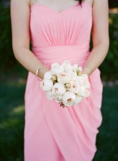 #peony #bouquet  Read more - http://www.stylemepretty.com/2013/06/14/thomas-fogarty-winery-wedding-from-erin-hearts-court/
