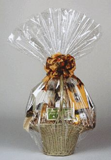 How To Wrap A Gift Basket In Cellophane Gift Wrapping