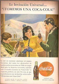 Coca Cola- Publicidad Gráfica Revista Selecciones 1944 - Chile