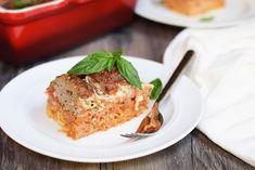 Spaghetti & Meatball Casserole
