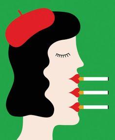 "Olimpia Zagnoli ""Why Smokers Still Smoke"""