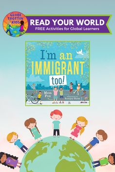 is a celebration of cultural diversity and a timely book for teaching kids about multiculturalism, community, and compassion. Multicultural Classroom, Multicultural Activities, Sequencing Activities, Free Activities, Australia For Kids, Free Kids Books, Geography For Kids, Author Studies, Cultural Diversity