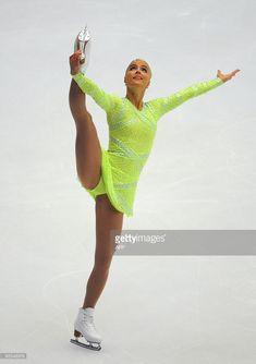 Kiira Korpi of Finland skates in the Ladies Short Program during the Cup of China ISU Grand Prix of Figure Skating 2009 at Beijing Capital Gymnasium. Sport Gymnastics, Artistic Gymnastics, Grand Prix, Female Gymnast, Figure Skating Dresses, Women Figure, Sporty Girls, Female Poses, Female Athletes