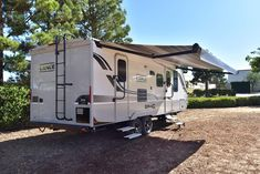 The Lance 2185 Travel Trailer comes with a large electric awning to give the whole family some shade for outside fun! Camping Trailers, Travel Trailers, Electric Awning, Recreational Vehicles, Camper, Hunting, Fishing, Gallery, Fun