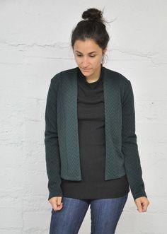 EVE LAVOIE EVE LAVOIE CARDIGAN JUPITER CHEVRON VERT Chevron, Sweaters, Fashion, Green, Moda, Fashion Styles, Sweater, Fashion Illustrations, Sweatshirts