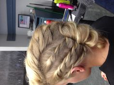 Ring dance #hair #updo