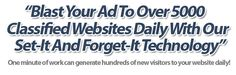 TOTAL ADVERTISING NETWORK. Blast Your Ad To Over 5,000 Classifieds Websites Daily With Our Set It and Forget Technology! Plus Huge Array Of Marketing Tools.
