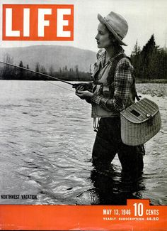 www.Filson.com | Spending some time in the great outdoors. #fishing #flyfishing #filson #northwest #nature #outdoors #lifemagazine #retro #vintage