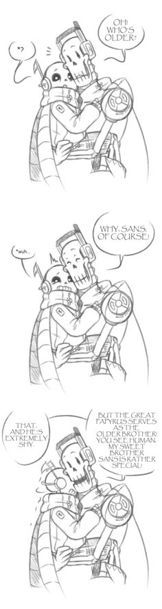 too precious!! Underbeats sans and papyrus