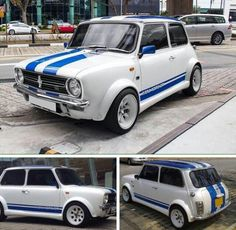 Mini Clubman Mini Clubman, Mini Coopers, Classic Mini, Classic Cars, Vintage Bikes, Motor Car, Cars And Motorcycles, Minis, Cool Cars