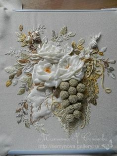 Gallery.ru / Фото #169 - объемная вышивка образцы из нета - semynova