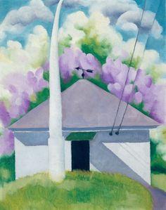 'printemps' de Georgia O'keeffe (1887-1986, United States)