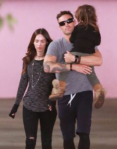 Megan Fox & Brian Austin Green's Outing With Noah - http://site.celebritybabyscoop.com/cbs/2016/01/22/austin-greens-outing #BrianAustinGreen, #Coparenting, #Exes, #FriendlyExes, #Hospital, #MeganFox, #NoahGreen, #UnitedFront