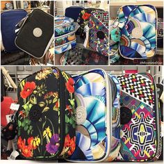 Found these Kipling 100 Pen Cases @marshalls!  Aren't the patterns beautiful? #kipling #100pencase by decorateddays