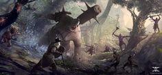 Khagal Ambush by Nicodemus Mattisson | 2D | CGSociety