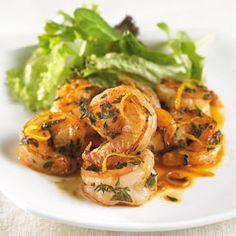 Diabetic Cooking - Cajun Lemon Shrimp: Diabetes Forecast Magazine