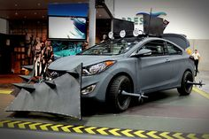 For fuel-saving, zombie-killing mileage, look no further than the Hyundai Zombie Survival Machine