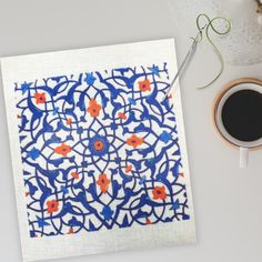Looking for fun needlepoint patterns? 😍  One of our projects some time ago was based on an Iznik tile. The needlepoint pattern came out great on the canvas!  The pattern is so beautiful, it got us looking for more Iznik tiles that would make beautiful patterns for needlepoint and needlepoint canvases.  Here are a few of our favorites! 👆 The history of Iznik pottery is quite interesting.  Originally from Turkey, there are many examples in museums and on palace walls. Needlepoint Patterns, Needlepoint Canvases, Some Times, Beautiful Patterns, Museums, Christmas Stockings, Palace, Create Your Own, Tiles