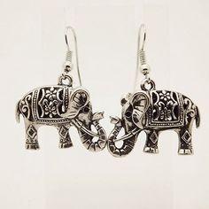 Buy Siam Legacy Elephant Retro Earring by Hollywood Sensation on OpenSky