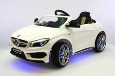 Mercedes CLA45 AMG Style Ride On Toy with a 12 Volt Powerful Battery and Powerful Motor will Guarantee Your Child Unforgettable Fun and Hours of Ride Enjoyment