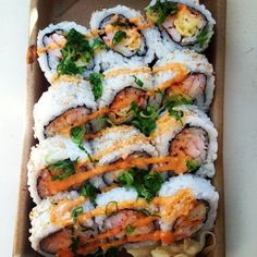 If you don't like sushi, you need to.