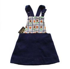 VINTAGE 60/70's / enfant / robe trapèze / par Prettytidyvintage