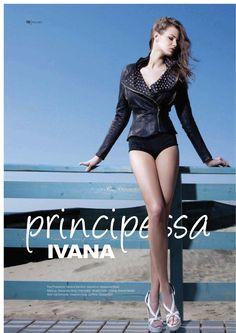 Ivana Mrazova wears Vladimiro Gioia SS 12 Jacket