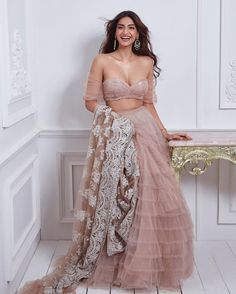 Unique Bridal Lehenga designs that is every Bride's pick in Indian Fashion Dresses, Indian Designer Outfits, India Fashion, Designer Dresses, Lehenga Designs, Indian Wedding Outfits, Indian Outfits, Indian Attire, Indian Wear
