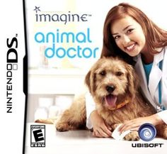 Order Imagine Animal Doctor Nintendo Nintendo DS Game used, cleaned, tested, and available for sale. Nintendo Ds, Handheld Video Games, Animal Doctor, Original Nintendo, Dog Games, Perfect Game, Childhood Days, Happy Animals, Wild Animals
