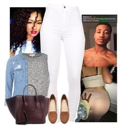 """""""✨"""" by je-mimi ❤ liked on Polyvore featuring River Island, Topshop and H&M"""