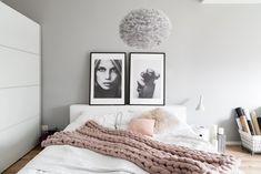 The Best Cool-Toned or Blue Gray Paint Colors Linen Bedroom, White Bedroom, Bedroom Decor, Decor Interior Design, Furniture Design, Modern Teen Bedrooms, Blue Gray Paint Colors, Palette, Dream Decor