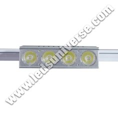 Track Light 30W: Our Track lights have 7W chips installed, which help creating a very efficient and high lumen per watt fixtures (160 lm/W). The lamp can be attached on a continuous track device either on the ceiling or wall. This is opposed to the routing of electrical wiring to individual light positions. http://www.ledsuniverse.com/track-lights/
