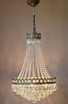 Paula 3-light Crystal 20-inch Chrome Chandelier | Light Fixtures ...